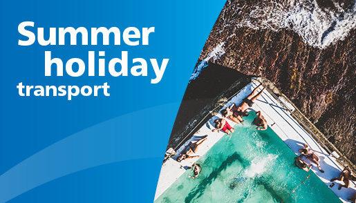 Sydney summer holiday transport