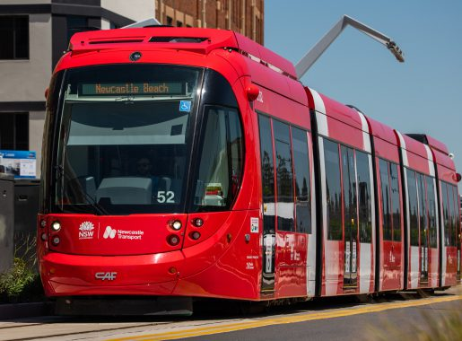 Road users continuing to put themselves at risk around light rail