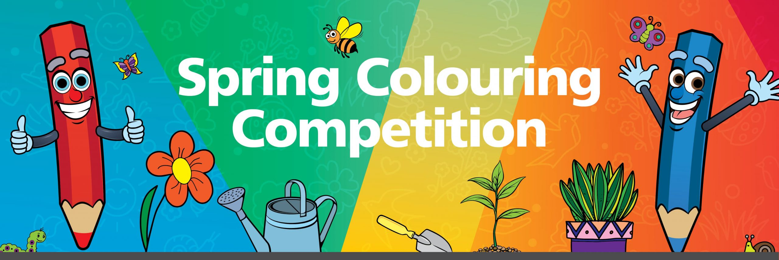 Spring Colouring Competition